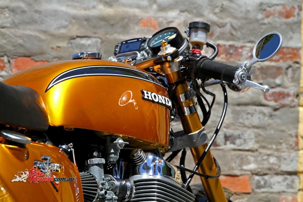 Bike Review Custom Classic CB750 Four Details (18)