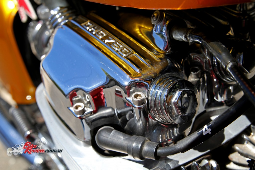 Bike Review Custom Classic CB750 Four Details (8)