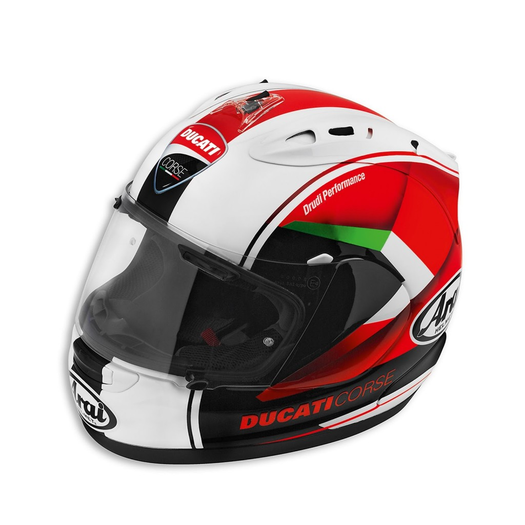 Ducati Arai Red Arrow Helmet