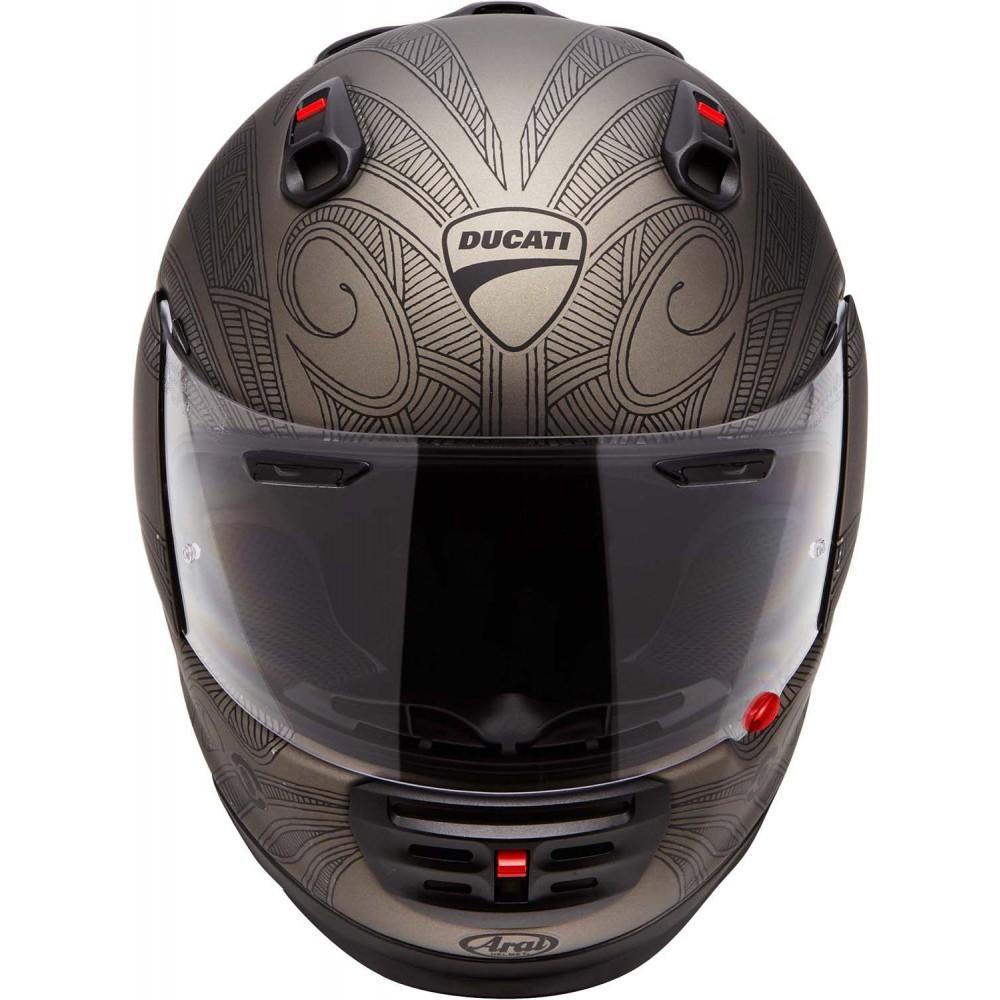New Product Ducati Soul Arai Helmet Bike Review