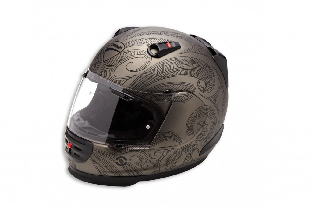 Ducati Soul Arai Helmet Featured