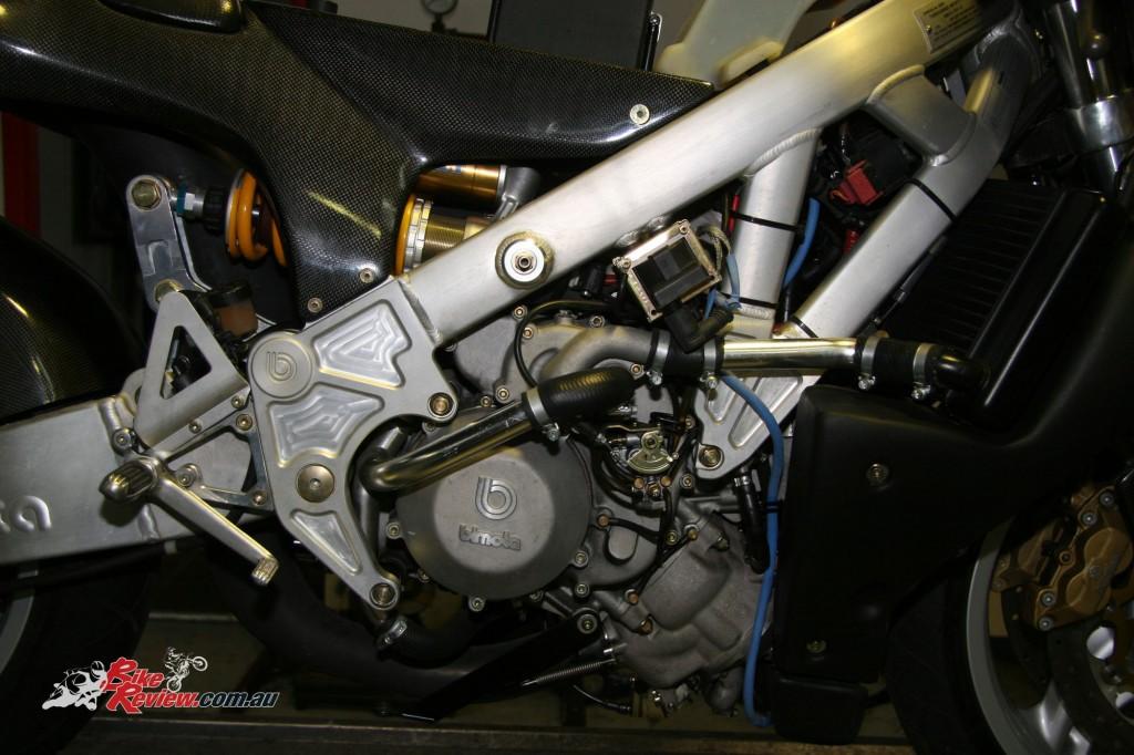 Ronax The V4 500cc Two-Stroke Bimota VDue (1)