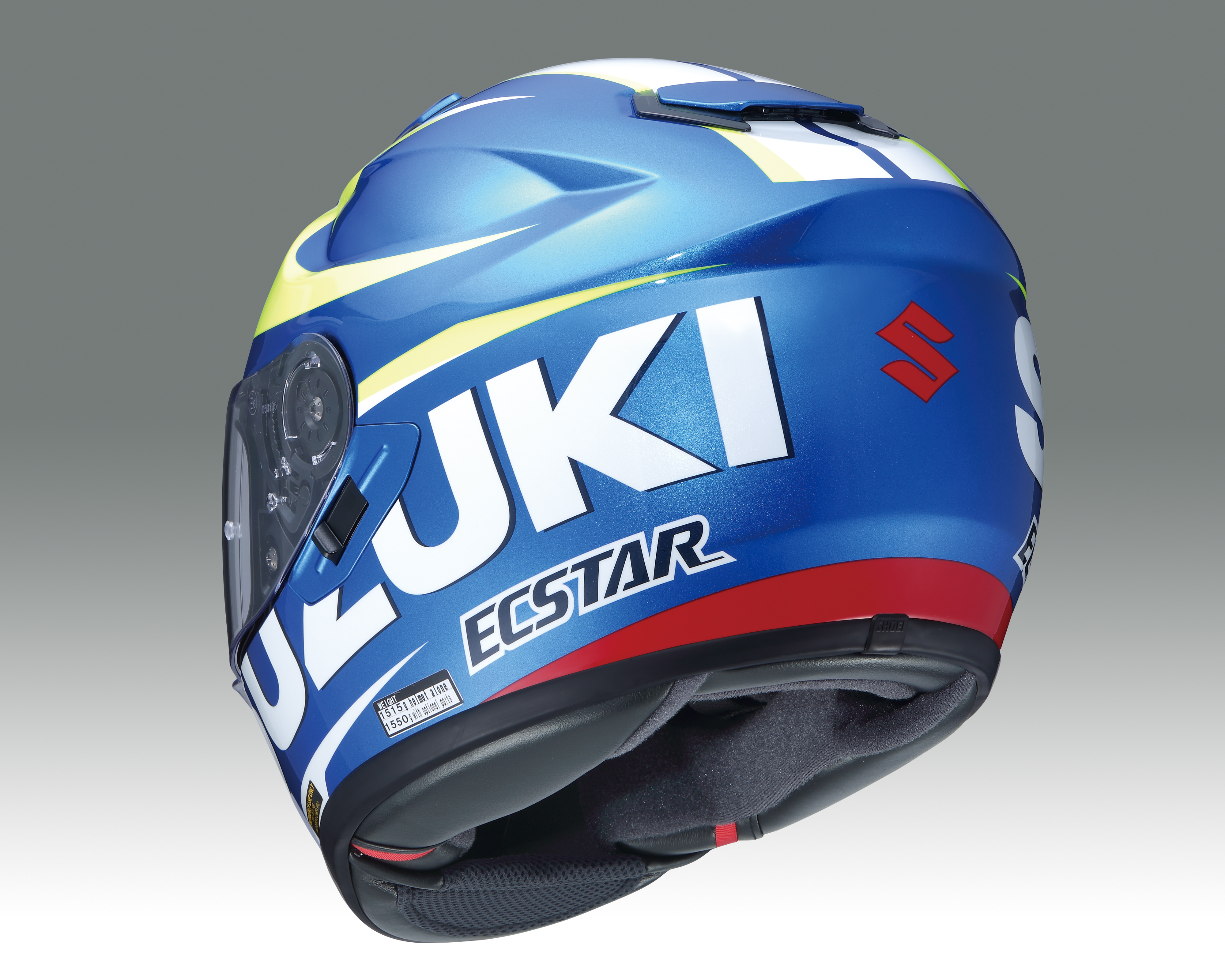 new product shoei gt air helmet suzuki motogp available. Black Bedroom Furniture Sets. Home Design Ideas