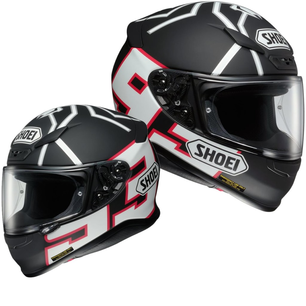 Shoei NXR Helmet Marquez - Bike Review (1)