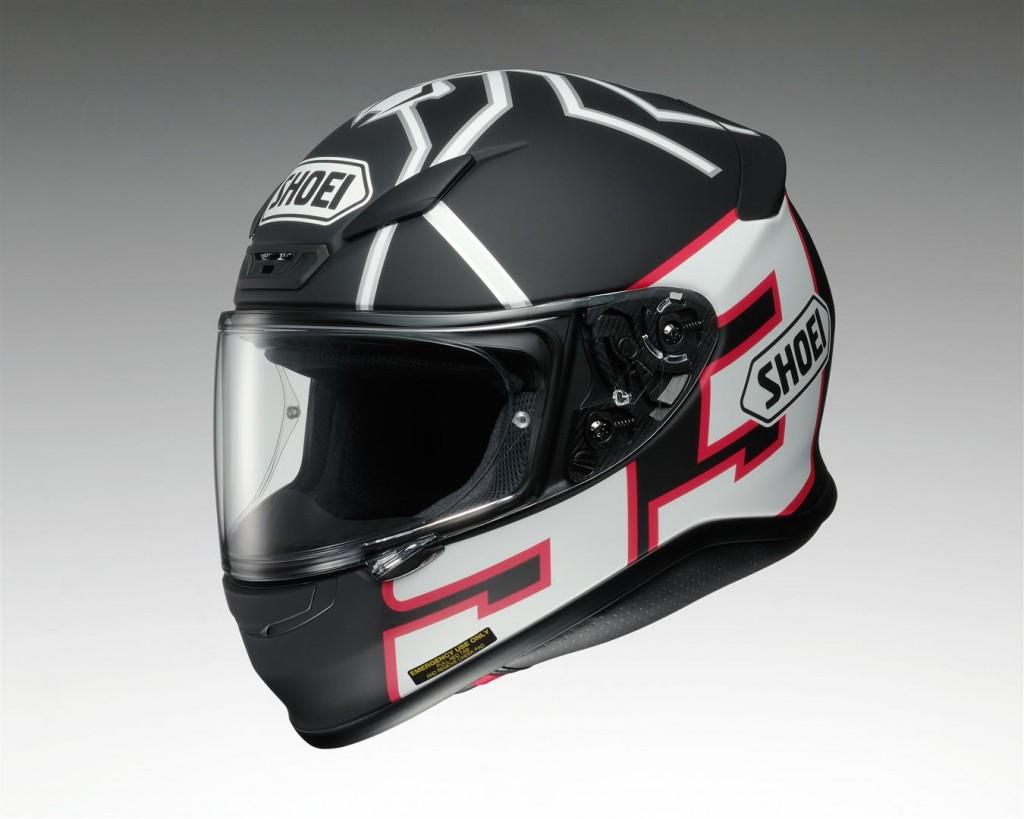 Shoei NXR Helmet Marquez - Bike Review (2)