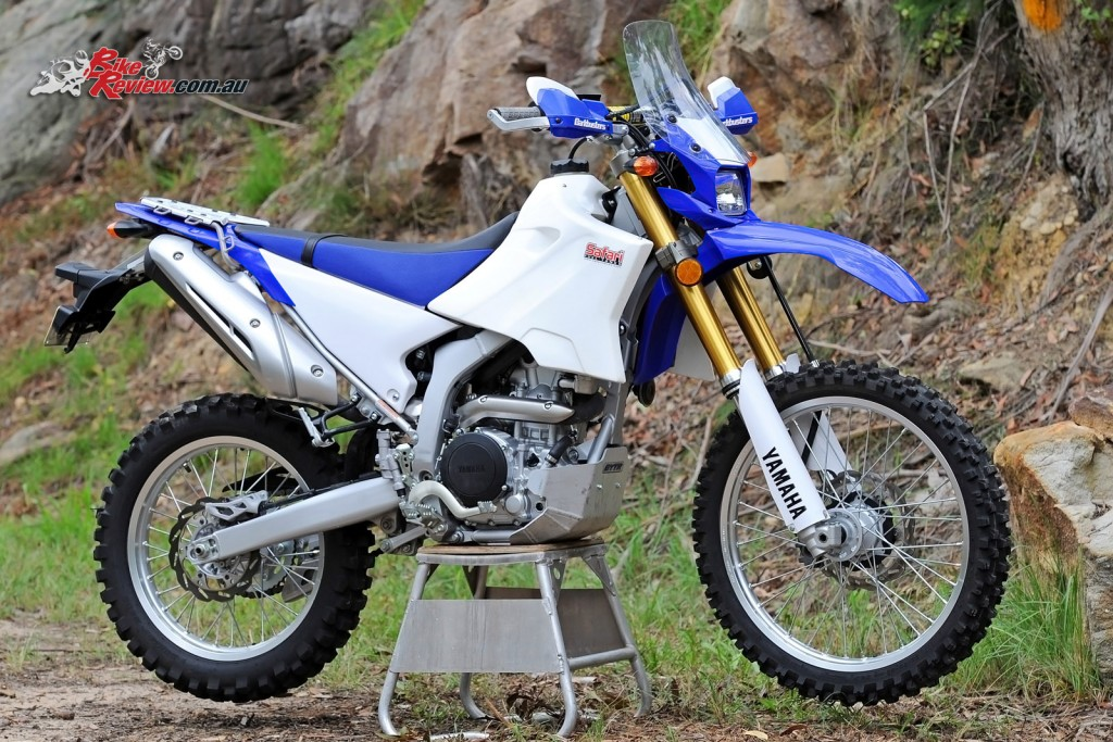 Yamaha WR YZ 15L Safari Tank - Bike Review (2)