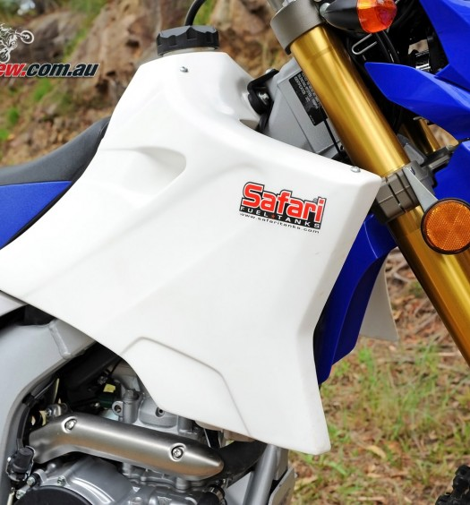 Yamaha WR YZ 15L Safari Tank - Bike Review (4)