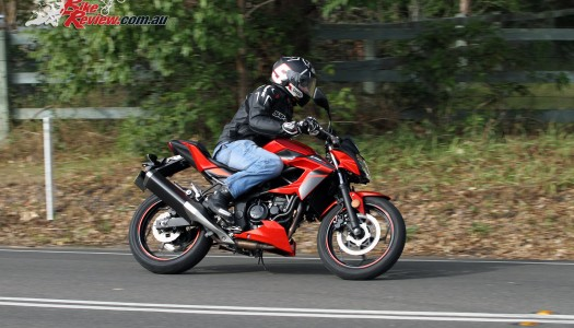 2016 Kawasaki Z250SL Review