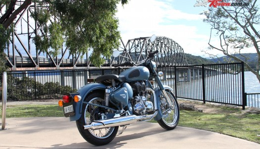 2016 Royal Enfield Classic Squadron Blue Review