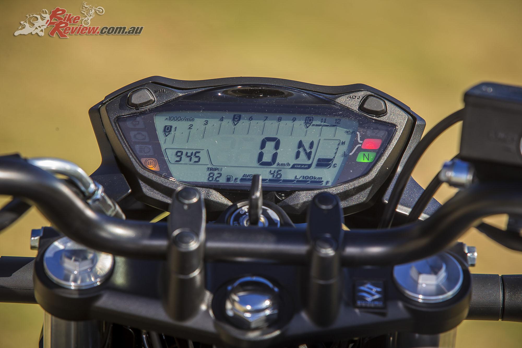 2016 Suzuki SV650 LAMS Bike Review Stat 37