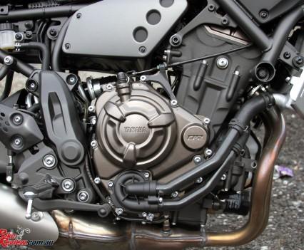 2016 Yamaha XSR700 Bike Review Det (4)