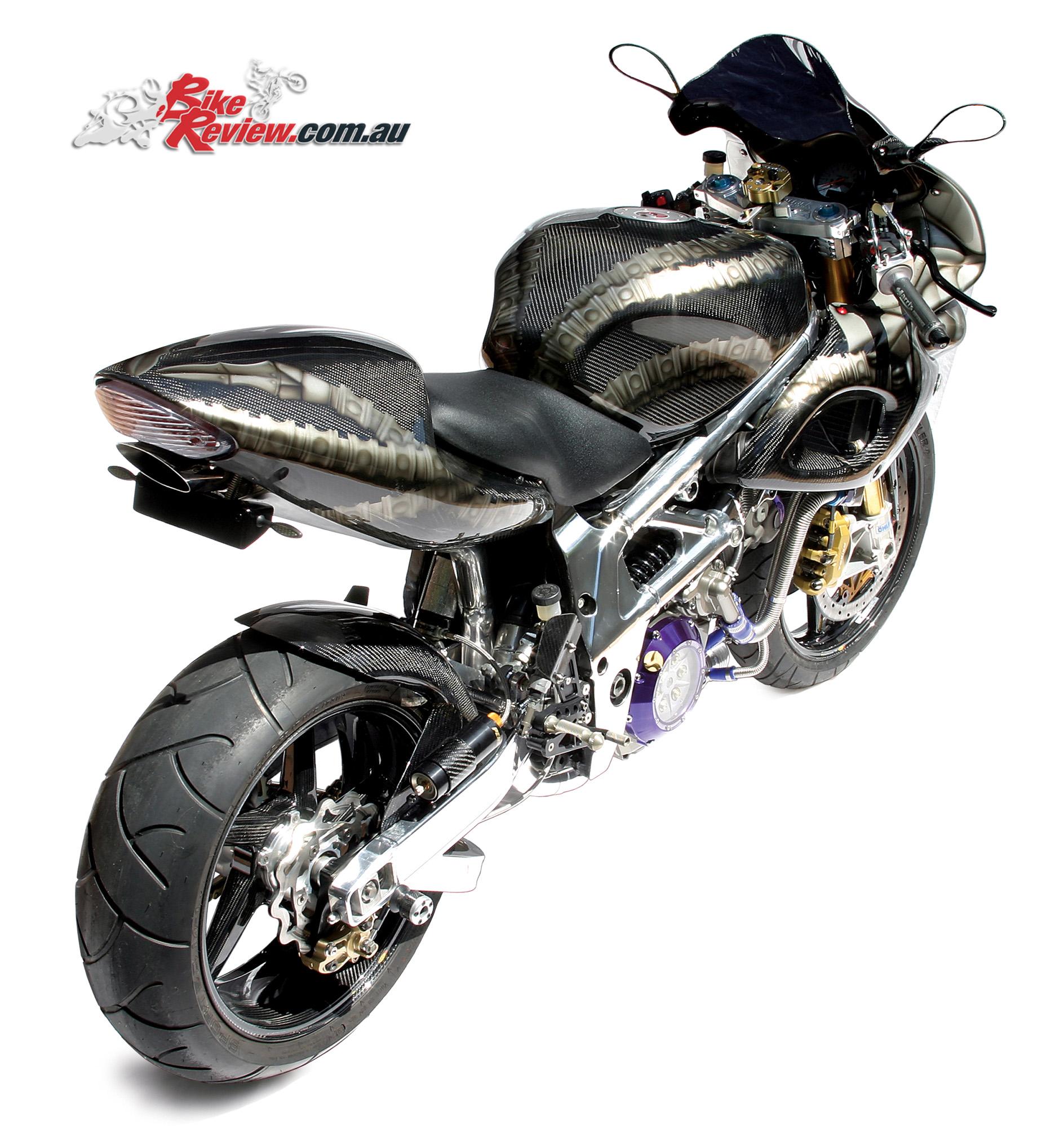 Custom Suzuki Tl1000s Sentinel Bike Review