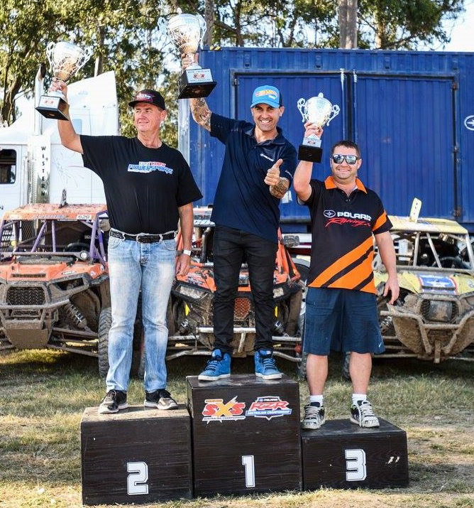 Comisky, Mingay and Hughes, Newcastle SXS Champs 2016.