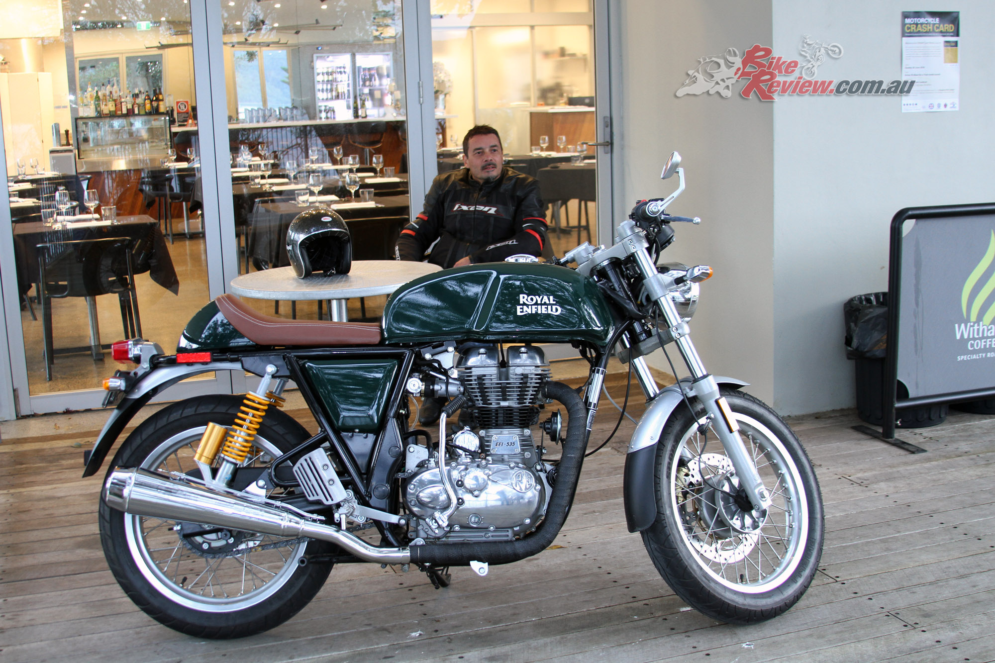Review Royal Enfield Continental Gt Bike Review
