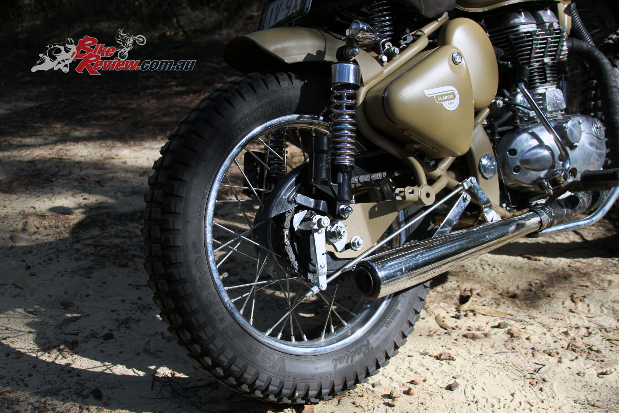 Custom Royal Enfield Custom Desert Storm Bike Review