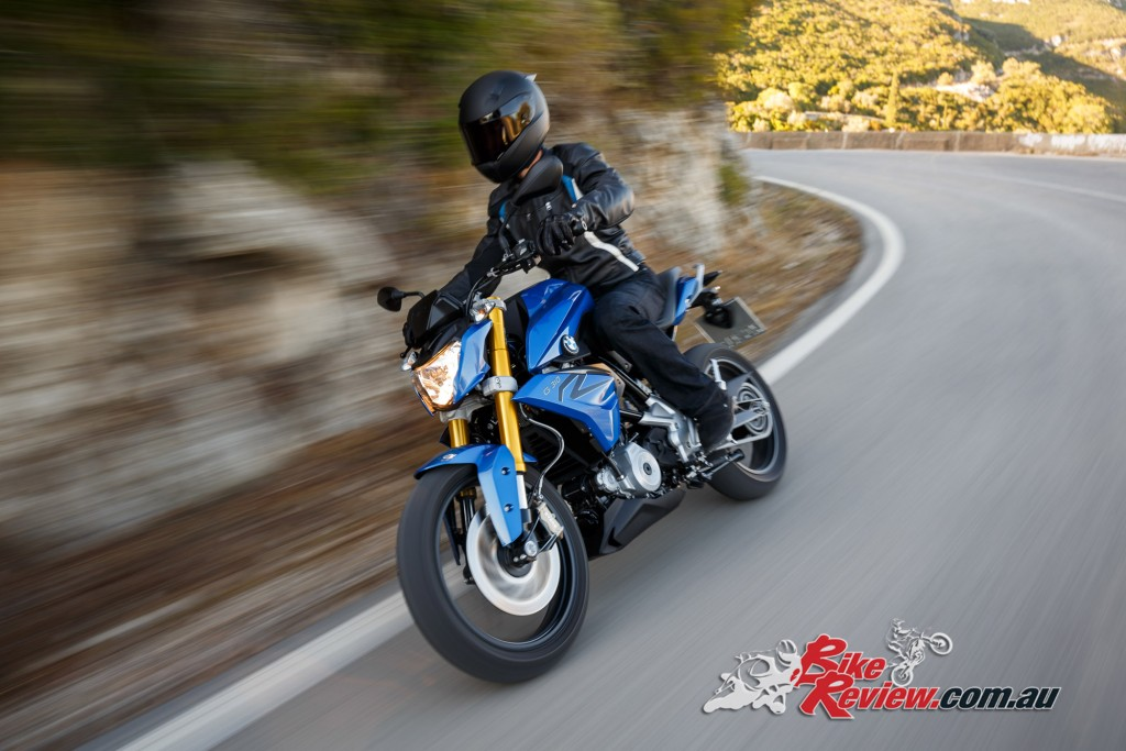 The new BMW G 310 R.