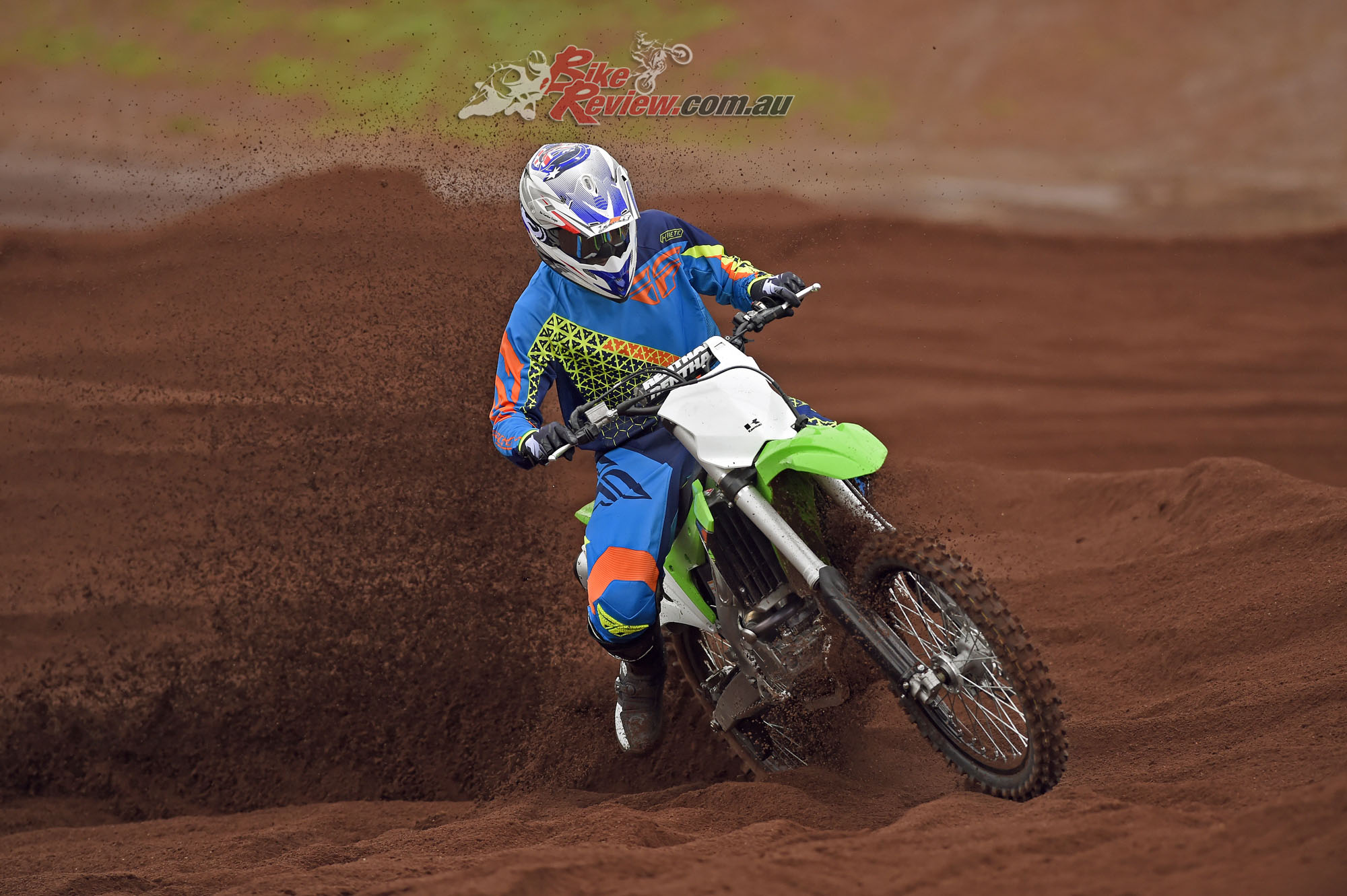 2017 Kawasaki KX250F Bike Review Action (4)
