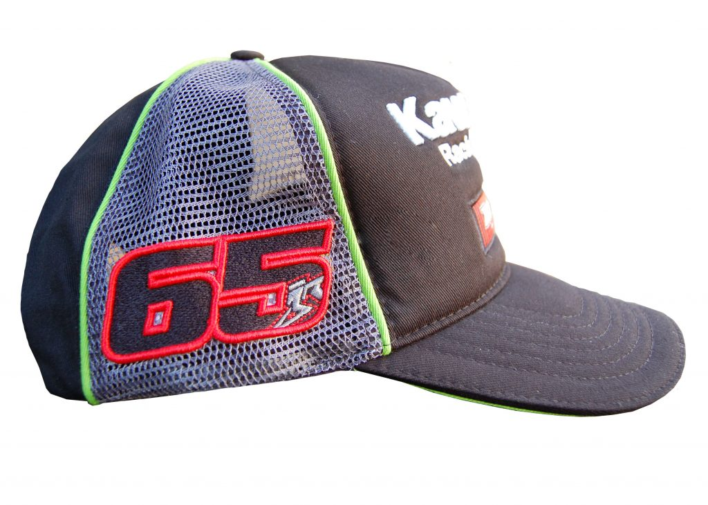 Cap Jonathan Rea 65 Side Profile WSBK Replica