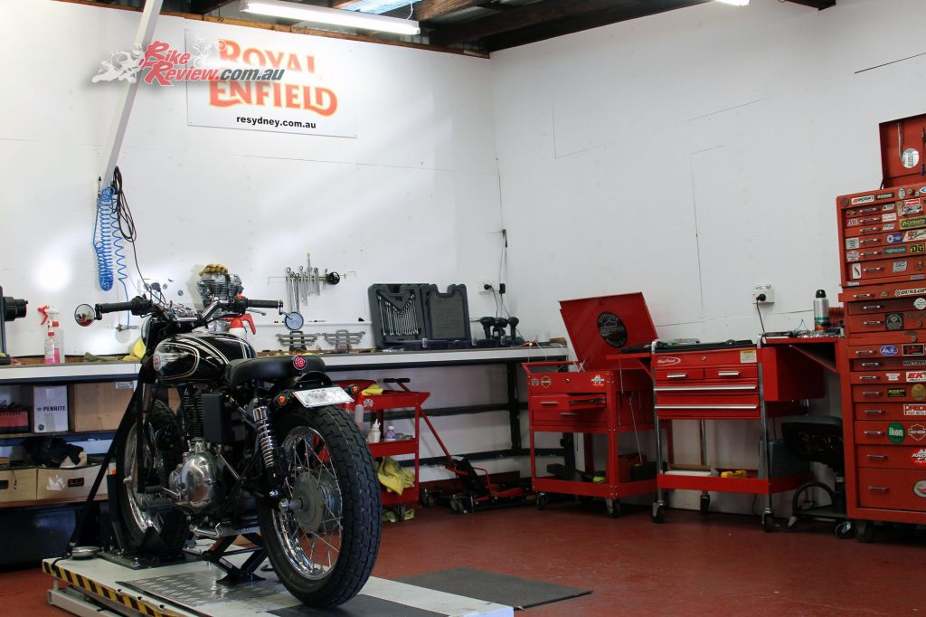 Royal Enfield Sydney Workshop Bike Review (48)