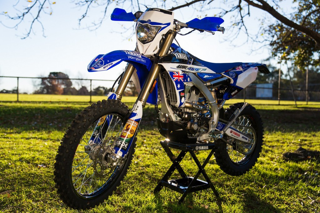 One lucky winner will get a 2016 WR450F.