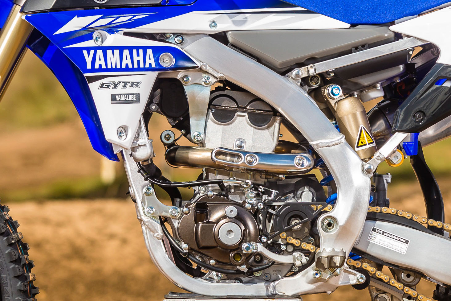 2017 yamaha yz250f major revisions bike review for 2017 yamaha yz250f