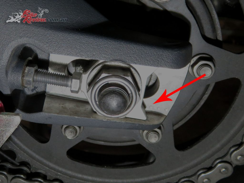 Adjust Chain Tension - Bike Review 15-2