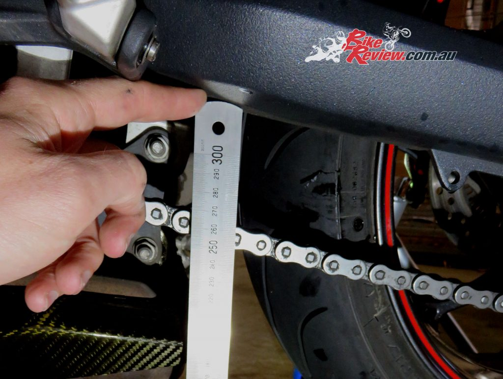 Adjust Chain Tension - Bike Review 7-2