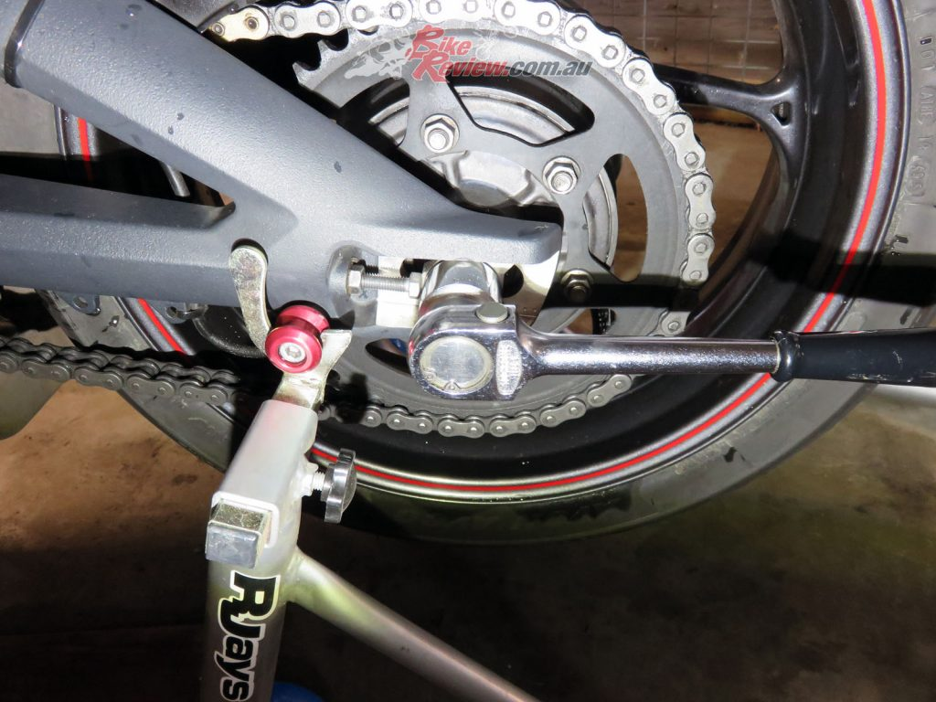 Adjust Chain Tension - Bike Review 9