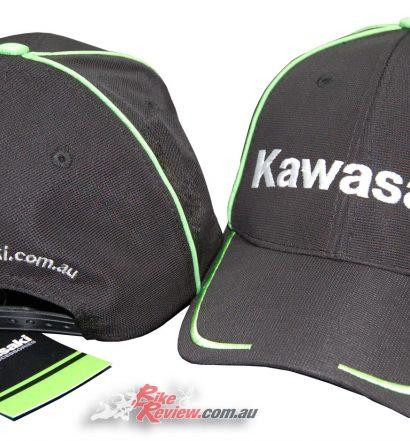 All New Kawasaki Curved Peak Cap