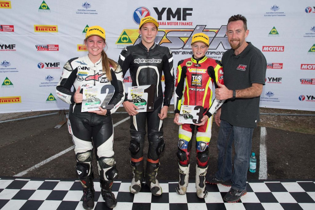 Edwards Toparis unstoppable at ASBK Round 5