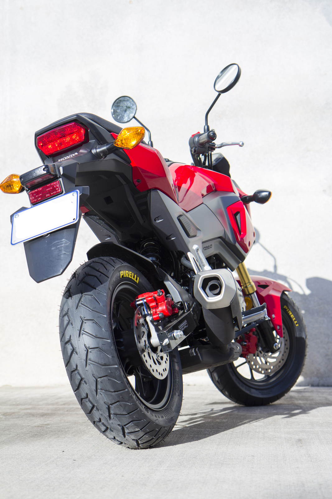 New Product: Pirelli Diablo Scooter Tyre for Honda Grom ...