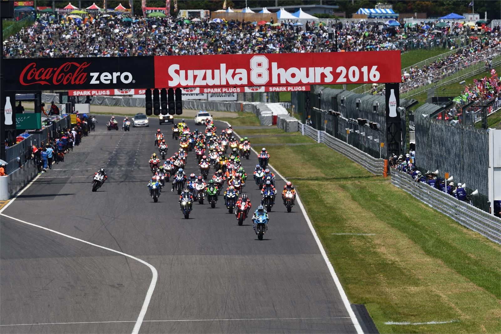 Suzuka 8 Hours Race Start 2016