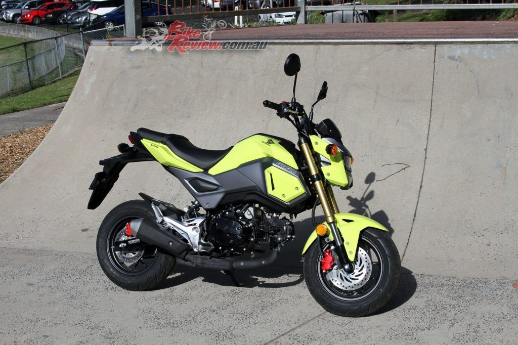 2016 Honda Grom 125 - Bike Review (9)