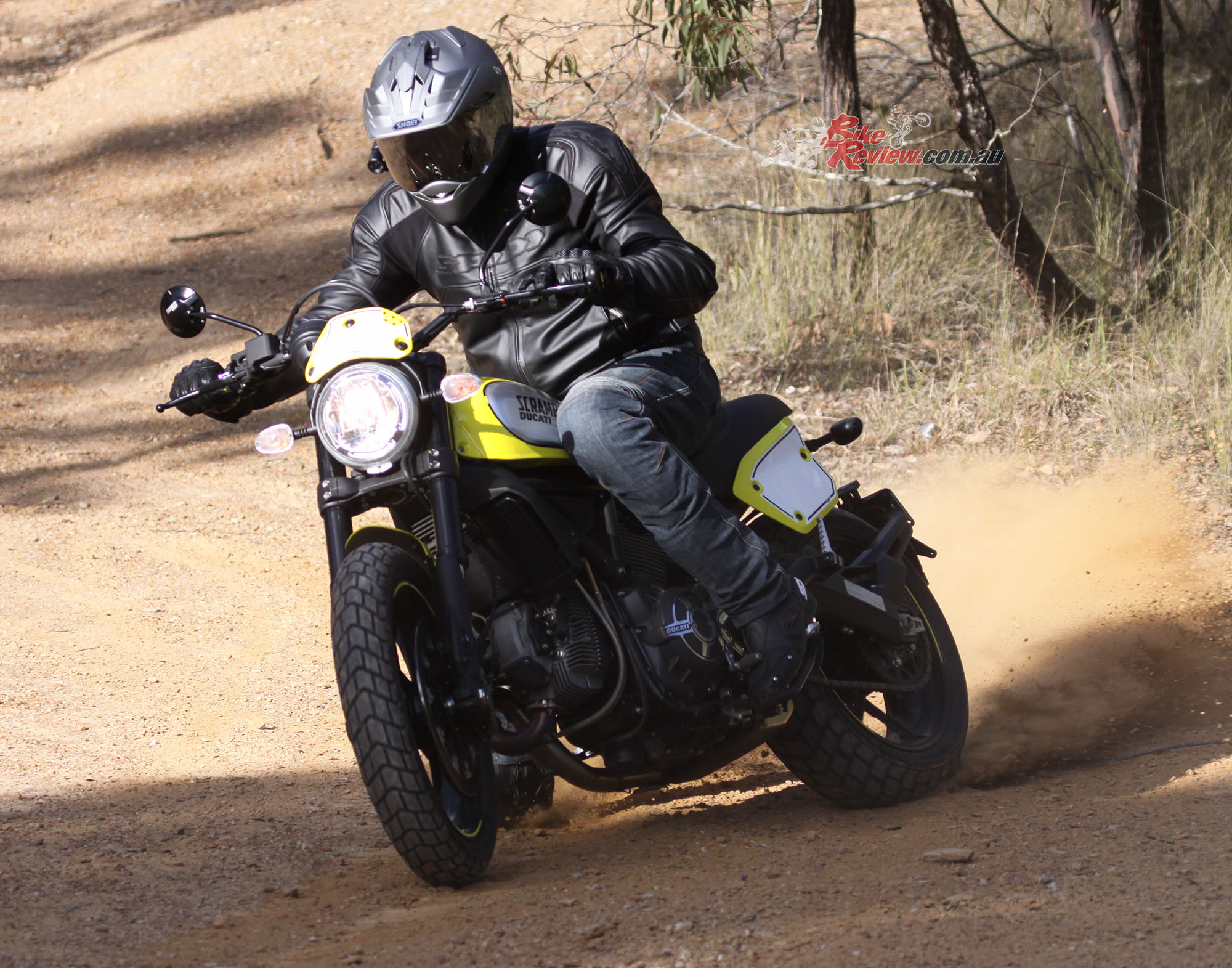There's a big variety of Scrambler versions to pick from - Flat Track pictured