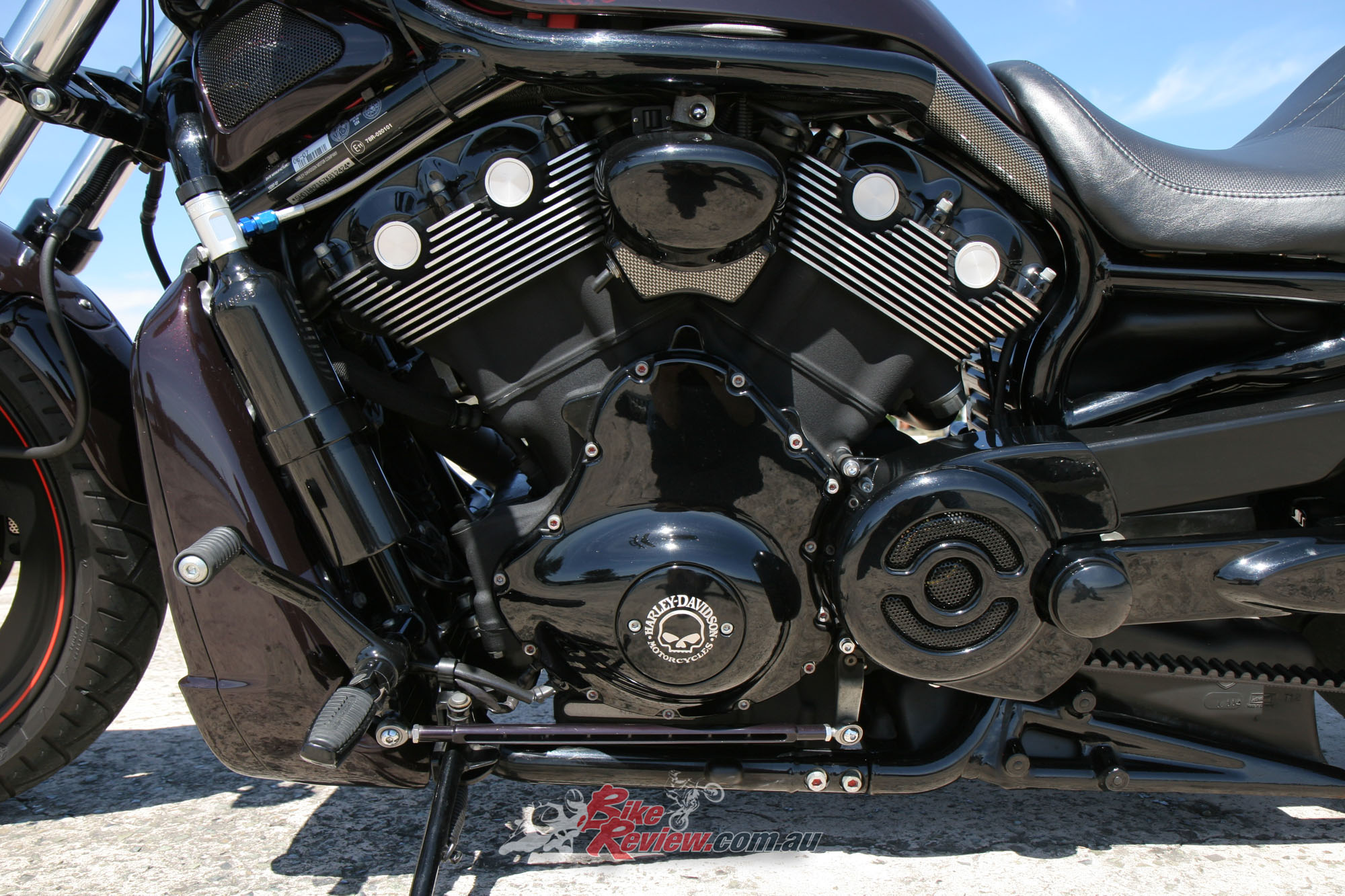 Custom Gassed Up Night Rod Special Bike Review