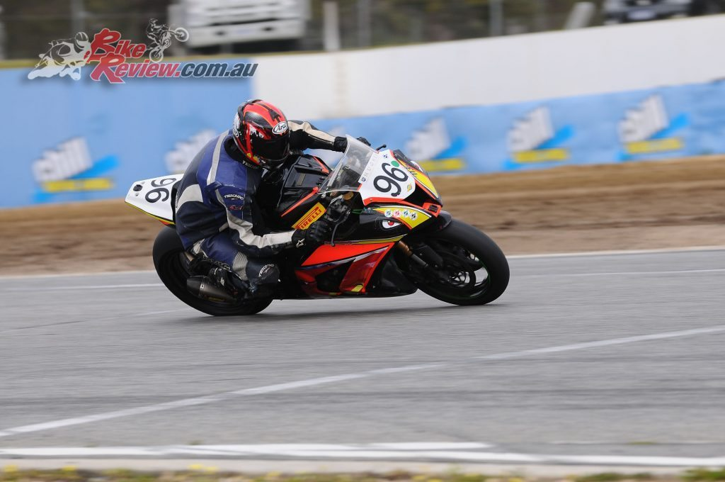 Keith Harrison C-Grade Superbike Series Winner.