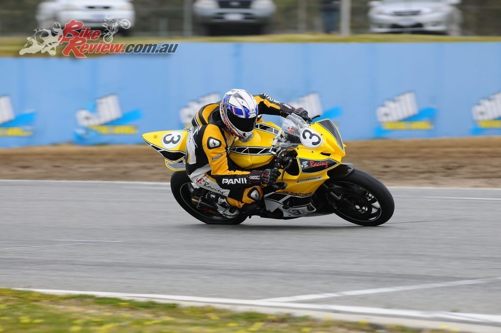 Leigh Boujous, Supersport runner-up.