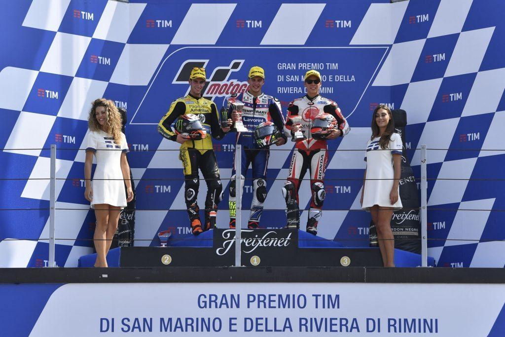 Moto2 Baldassarri takes the win despite superhuman Rins 2