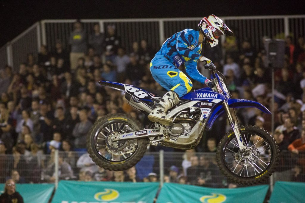 Jordan Hill rode well for ninth in his SX2 debut