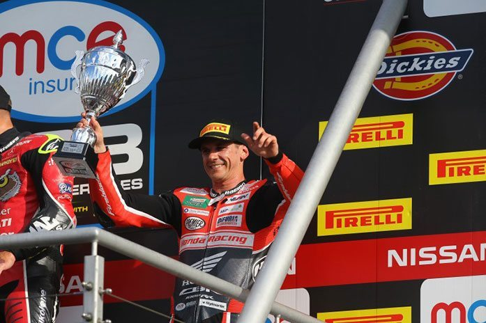 THIRD PLACE PODIUM DELIGHT FOR JASON O'HALLORAN AT BRANDS HATCH