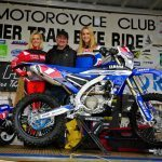 Lucky punter Greg Lee (bottom right) won a unique GYTR accessorised WR450F.