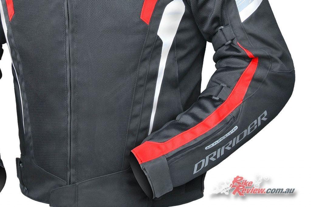 dririder-air-ride4-blk-red-detail