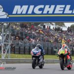 Mike Jones takes his first MotoGP points at the Phillip Island 2016 round.