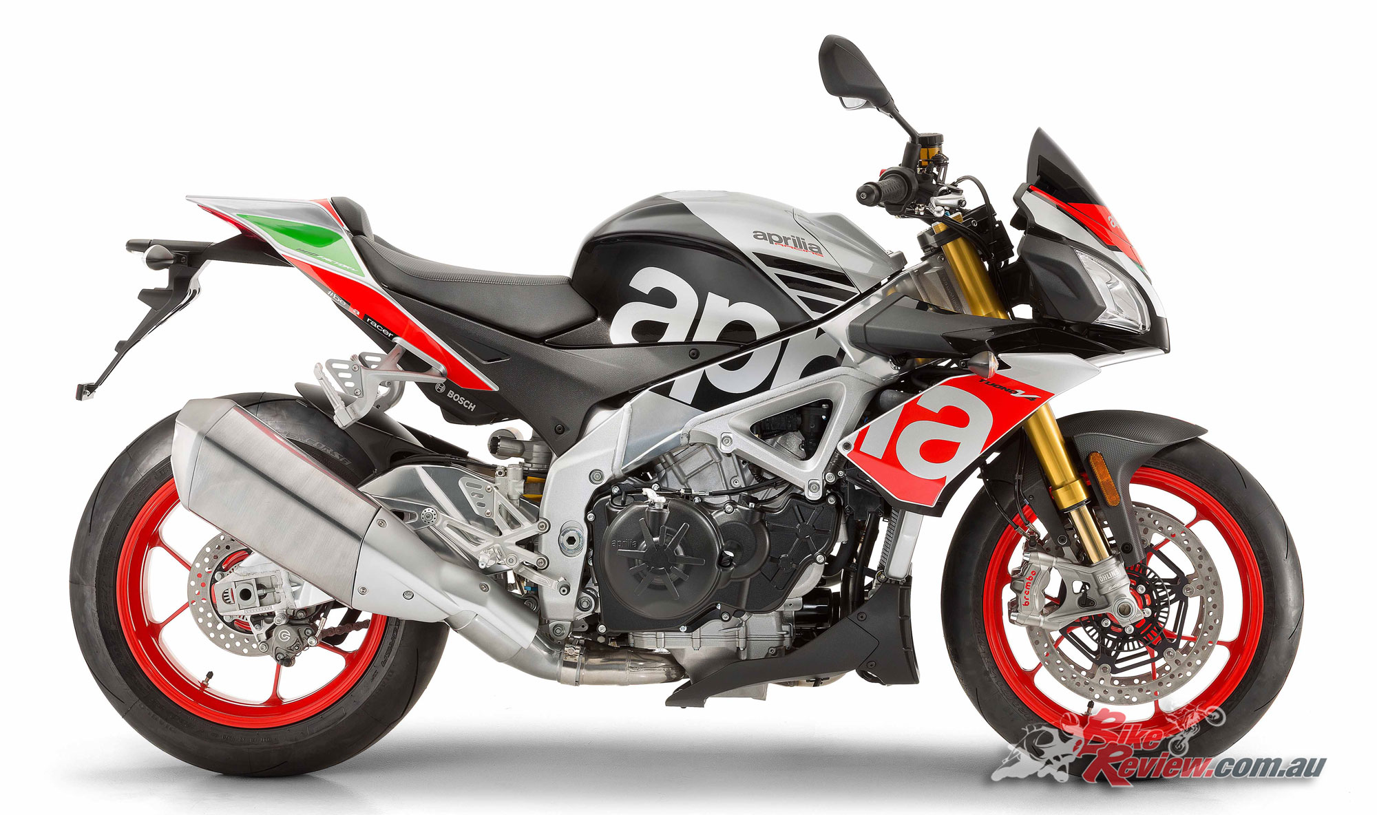 2017 aprilia tuono v4 1100 rr factory bike review. Black Bedroom Furniture Sets. Home Design Ideas