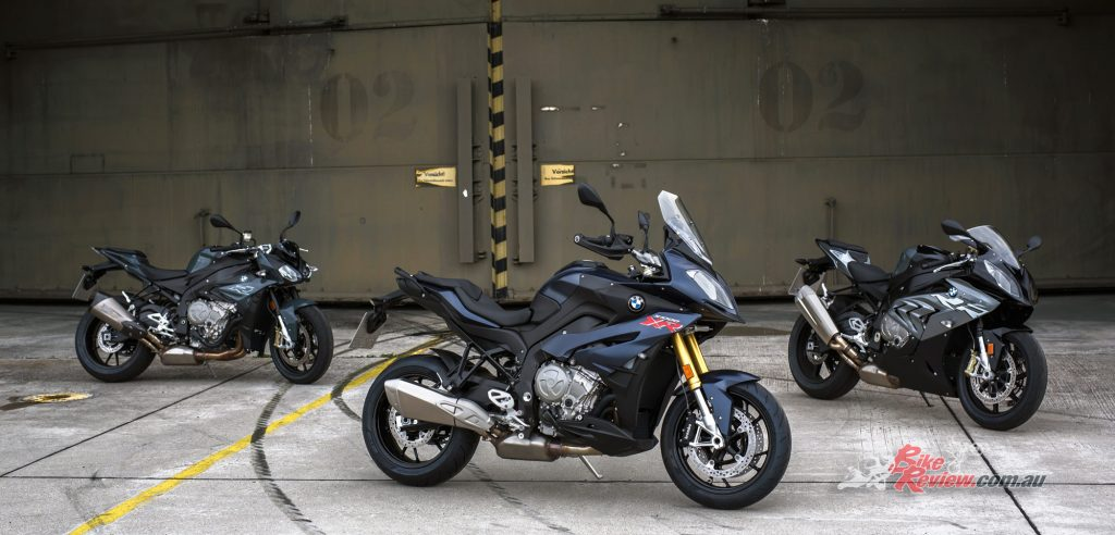 2017 BMW S 1000 R, S 1000 XR, S 1000 RR