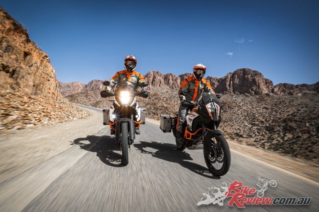 2017 KTM 1290 Super Adventure R. Offering more refinement and smoother power delivery especially in the low and mid range.