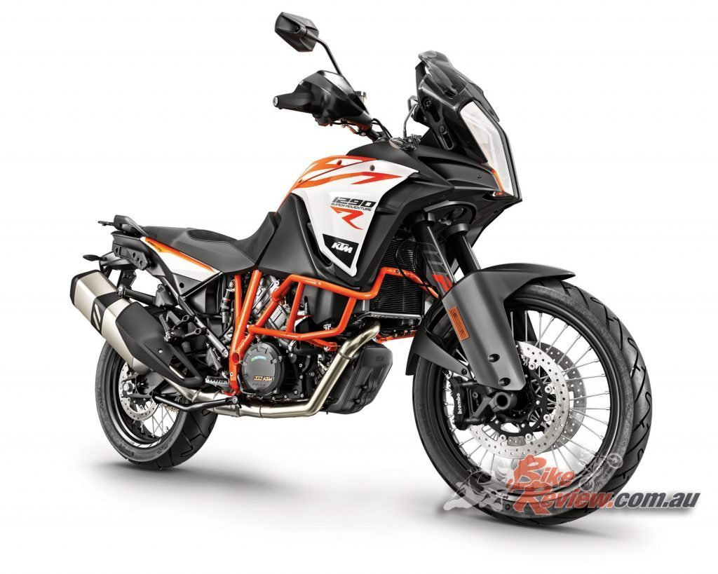 2017 KTM 1290 Super Adventure R. The electronic ignition key never needs to leave your pocket.