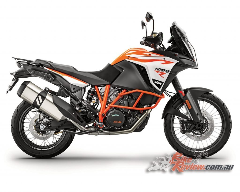 2017 KTM 1290 Super Adventure R. Styling was a collaboration between KISKA and KTM engineers.