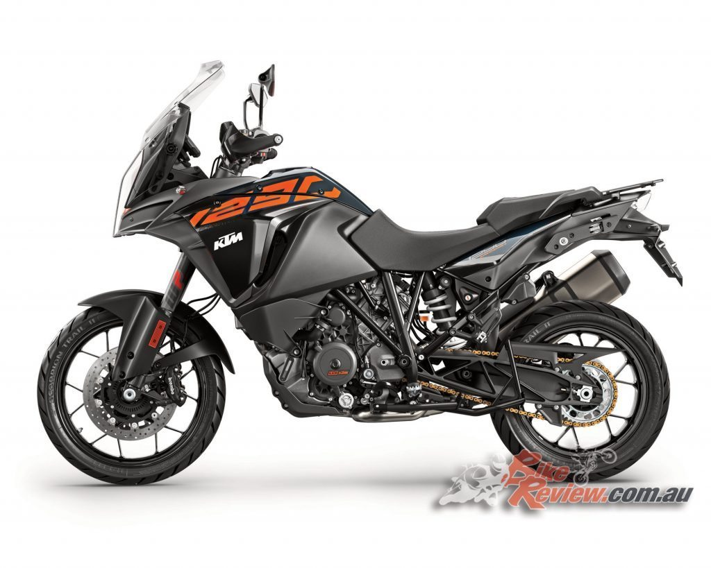 2017 KTM 1290 Super Adventure S, powered by the same engine and technology as the Super Adventure R