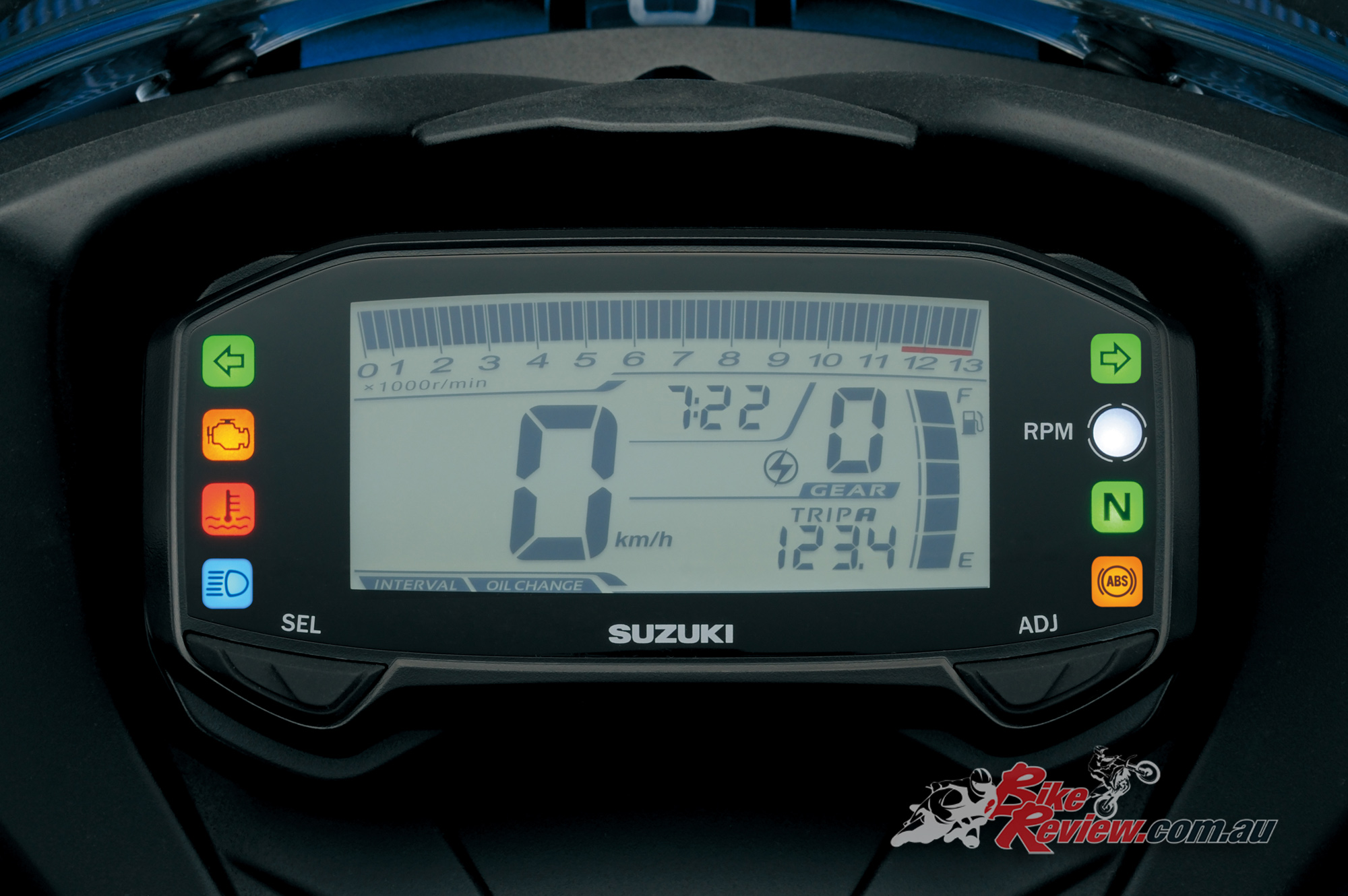 all new suzuki gsx r125 breaks cover bike review. Black Bedroom Furniture Sets. Home Design Ideas